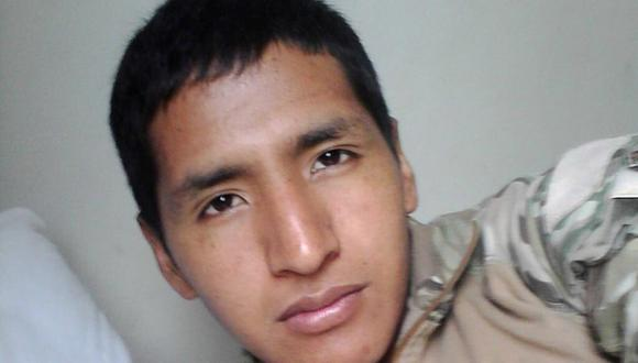 Elmer Quispe Ríos murió en el Vraem tras enfrentarse a terroristas en Ayacucho. (@malditaternura)