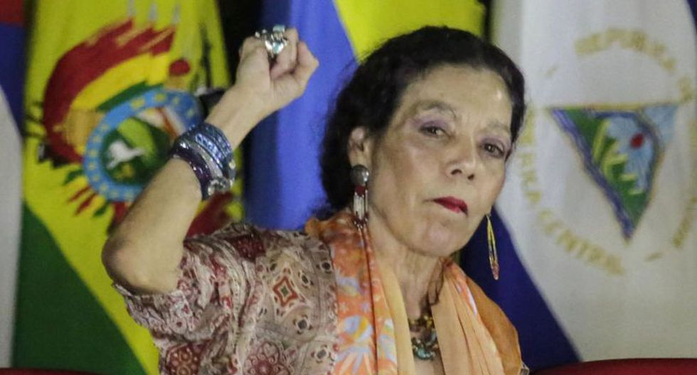 Las sanciones emitidas contra Rosario Murillo y Néstor Moncada bloquean todos sus bienes y activos bajo jurisdicción de Estados Unidos. | Foto: AFP