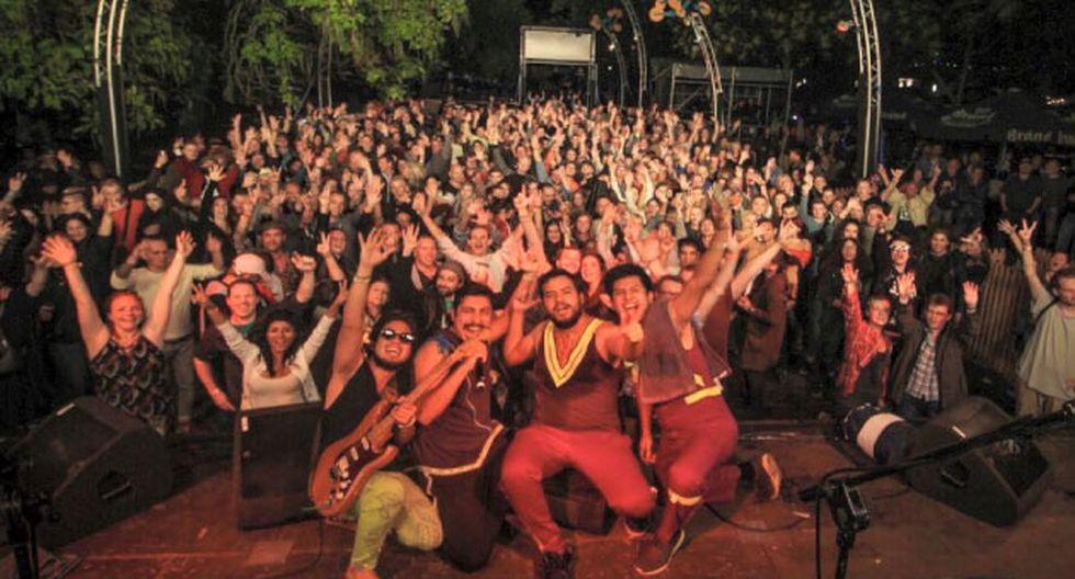 Como parte de su gira europea, la banda estuvo en Zomerparkfest.