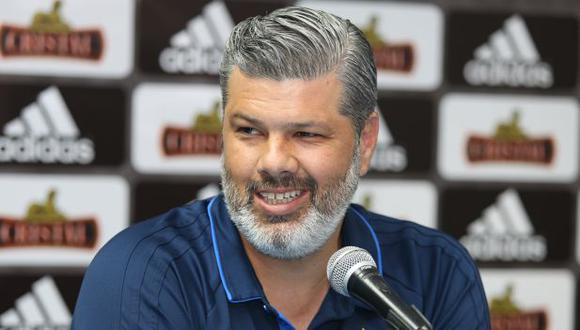 Carlos Benavides espera concretar la llegada de un refuerzo más para Sporting Cristal en la semana siguiente. Alexis Mendoza solicitó un extremo adicional. (Foto: Violeta Ayasta / GEC)