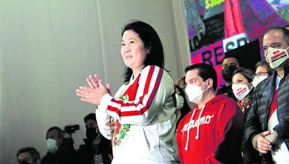 Otra vez. Fiscal vuelve a pedir prisión preventiva para Fujimori. (Foto: Geraldo Caso / @photo.gec)