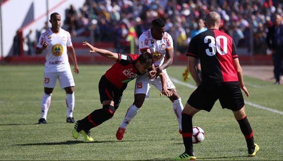 Ayacucho y Melgar igualaron 1-1 por la segunda fecha de la Liga 1. (Twitter Melgar)