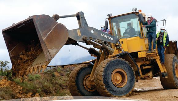 Puno: Devida y municipio de Sandia inician mantenimiento de camino vecinal (Foto: Municipalidad de Sandia)