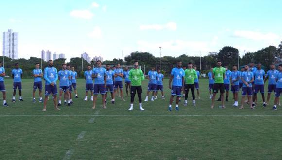 Goiás jugó el domingo ante Aparecidense por el Campeonato Goiano. (Foto: Goiás)