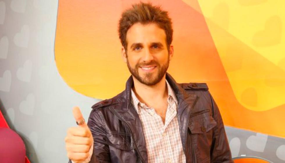 1. Rodrigo González, conductor de televisión. (USI)