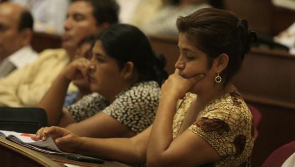 AL BANQUILLO. La nacionalista Nancy Obregón debe ser investigada por las autoridades judiciales. (Martín Pauca)