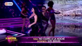 Pamela Franco y Josimar cantan a dúo tema de Luis Miguel en 'El Artista del Año'