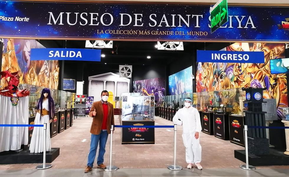Museo de Saint Seiya abre sus puertas en Plaza Norte y se convierte en una opción turística.