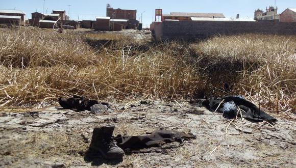 Ataque ocurrió en Coata. (Jimmy Valencia/USI)