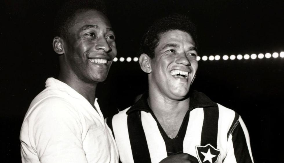 Pelé y Garrincha llevaron a Brasil a ganar dos mundiales (1958-1962). El 'Scratch' nunca perdió cuando ambos jugaban. (Internet)