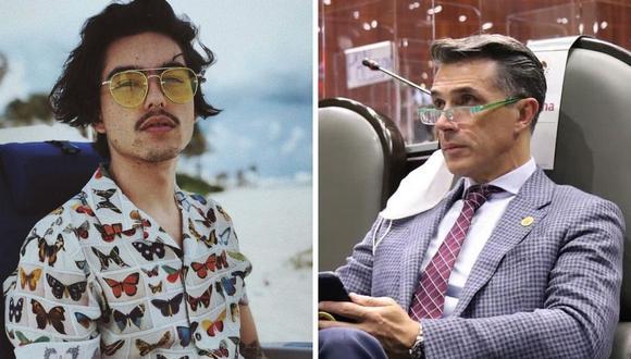"""Sergio Mayer le dio un consejo a su hijo, quien está trabajando en una nueva versión de """"Rebelde"""". (Foto: Instagram @sergiomayerb / @smayermori)."""