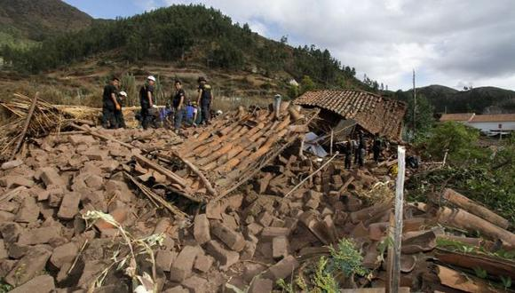 Cusco: Sismo de 5.1 grados en Paruro dejó al menos 8 muertos.  (Percy Hurtado)