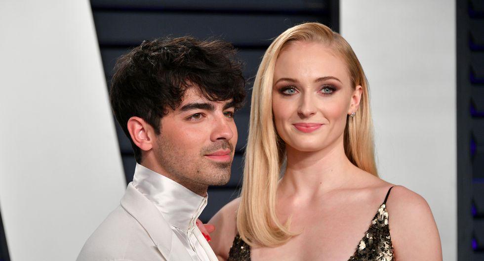 Joe Jonas y Sophie Turner también asistieron a la ceremonia organizada por Vanity Fair. (Foto: AFP)