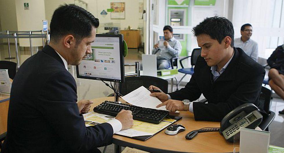 Respecto de cuál es el departamento que concentra el mayor número de préstamos y clientes, la central de riesgos indica que Lima lidera ambos rubros. (USI)