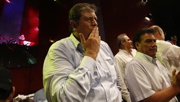 Alan García solo fue citado como testigo en caso petroaudios. (César Fajardo)