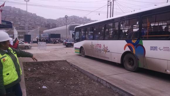 El Ministerio de Vivienda realiza mejoras en las vías de acceso a las sedes de los Juegos Panamericanos Lima 2019. (Difusión)
