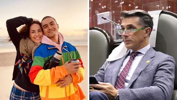 """Sergio Mayer defiende a su hijo con Bárbara Mori tras polémica por 'Rebelde': """"Él ya afrontó su responsabilidad"""". (Foto: Instagram @sergiomayerb / @smayermori)."""