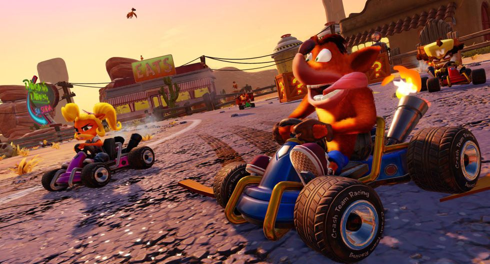 Crash Team Racing Nitro-Fueled', versión remasterizada que llegará el próximo 21 de junio para Nintendo Switch, Xbox One y PlayStation 4.