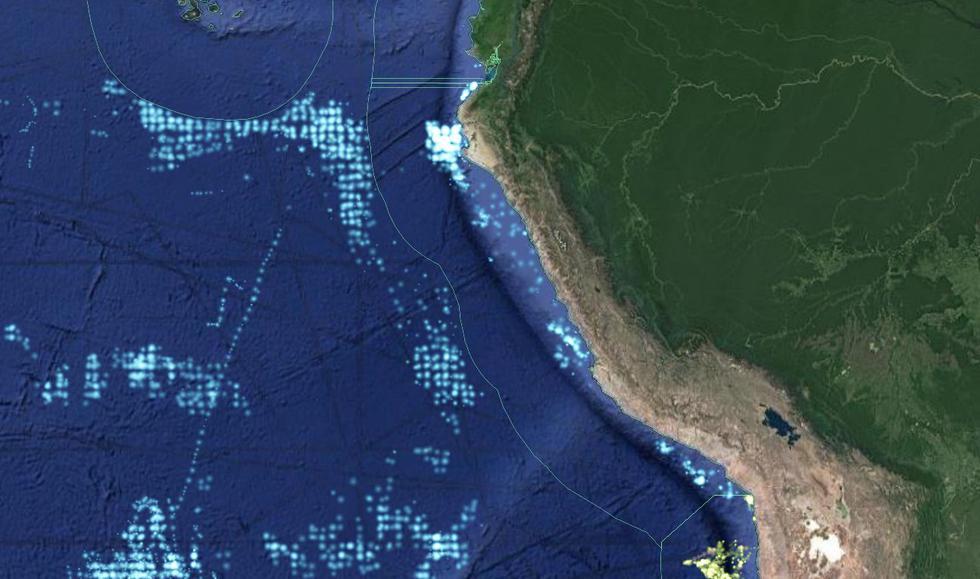 Marina de Guerra del Perú se pronuncia sobre presencia de embarcaciones extranjeras frente a las costas del país