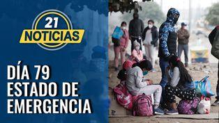 Día 79 de estado de emergencia