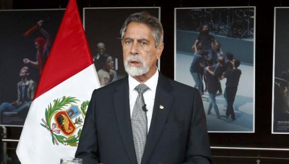Francisco Sagasti se reunirá con Pedro Castillo en Palacio de Gobierno esta tarde. (Foto: Andina)
