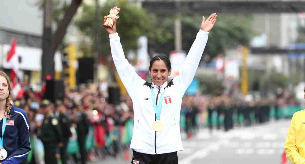 La selección peruana felicitó a los atletas en Lima 2019. (Foto: GEC)