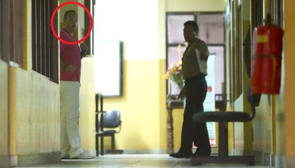 AGRESOR. León Romero se resistió a declarar ante los agentes de la comisaría de San Isidro. (Rafael Cornejo)
