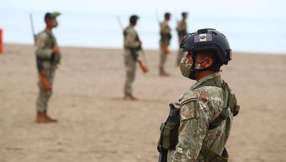 El Gobierno dispuso el cierre de playas en la costa del país debido a la pandemia del COVID-19. (Foto: GEC).