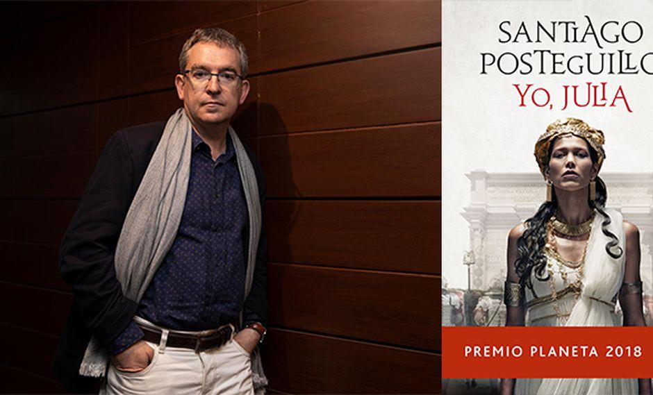 Santiago Posteguillo, autor de 'Yo, Julia', visitó Lima por segunda vez.