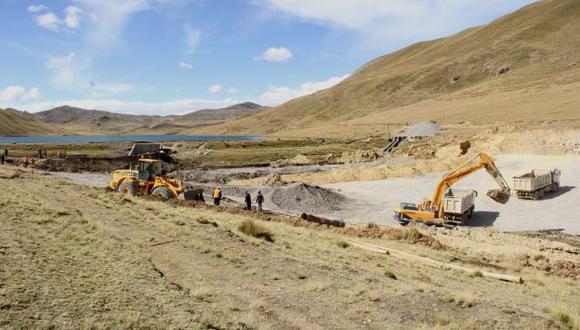 Por el momento, se construye represa en laguna Yanacocha para evitar desbordes. (Internet)