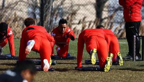 Selección Peruana cumplió su tercer día de entrenamiento en NUeva Jersey. (Foto: Daniel Apuy / GEC)