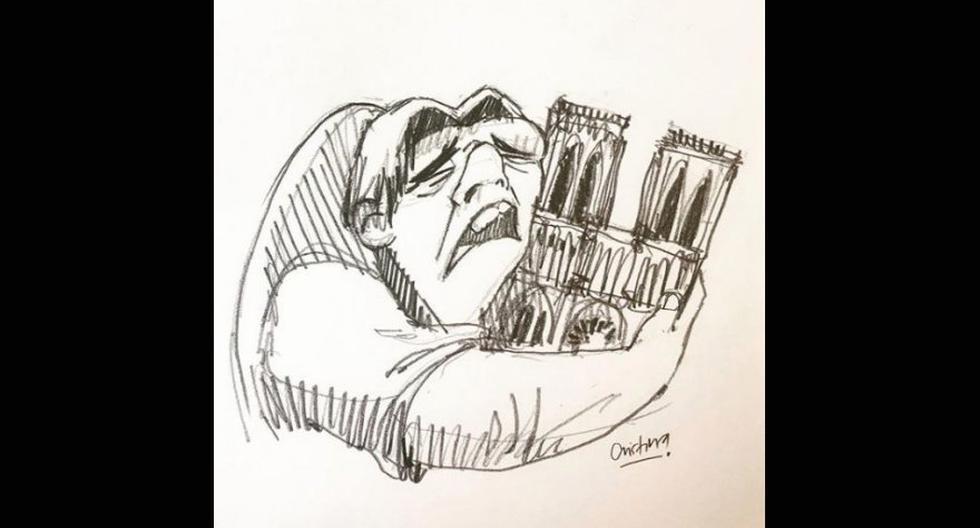 Así fue el tributo en las redes sociales (Foto: Instagram/@dibujosdecristina)