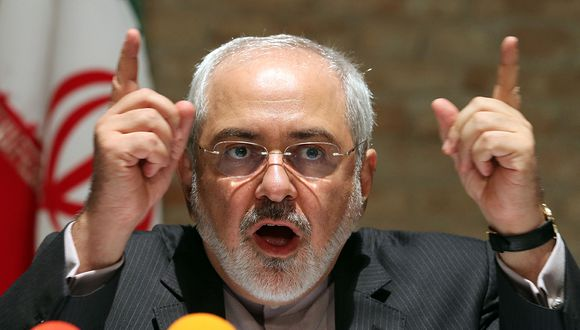 El ministro de Relaciones Exteriores iraní, Mohammad Javad Zarif, durante una conferencia en Viena. (Foto: AP/Archivo)