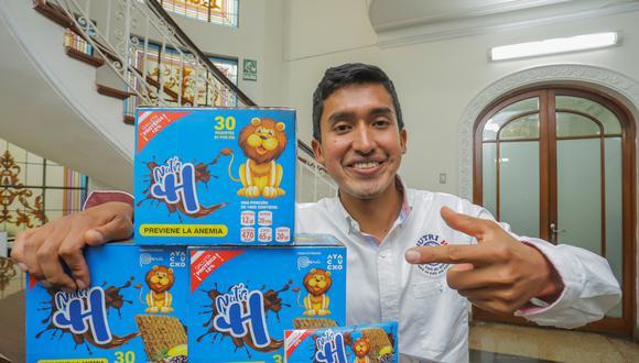 Julio Garay busca acabar con la anemia infantil con sus galletas Nutri H.