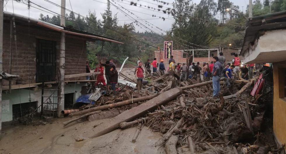 La población de Huancabamba está alarmada. (Foto: GEC)