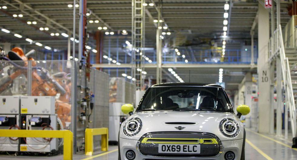 El auto eléctrico de Mini. (Foto: AFP)