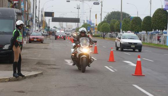 Del 15 de julio al 3 de setiembre se restringirán algunas avenidas de Lima y Callao. (Foto: Andina)