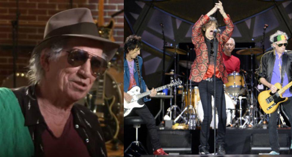 """Keith Richards sobre The Rolling Stones: """"Muy pronto grabaremos nuevo material"""" (Composición/EFE)"""
