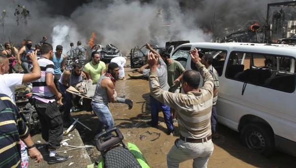Tensión sectaria. Dos mezquitas sunitas fueron atacadas cuando terminaban las oraciones. (Reuters)