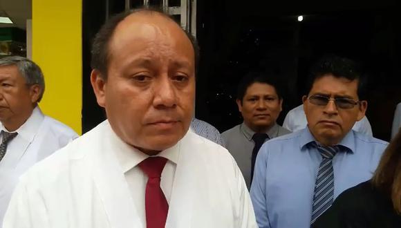 Juez César Mariano Mendez Calderón. (Foto: Televisión Tarapoto)
