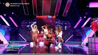 "Reinas del show 2: Vilma Picapiedra, Pitufina, Tormenta y Minnie Mouse se mueven al ritmo de ""In Da Getto"""