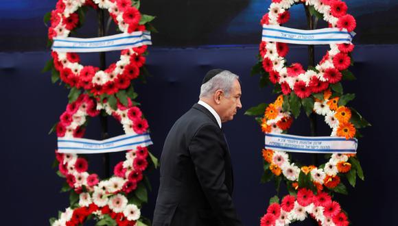 """""""No permitiremos que Irán se haga con armamento nuclear. Continuaremos luchando contra quienes nos matarían"""", agregó Netanyahu. (Foto: EFE)"""