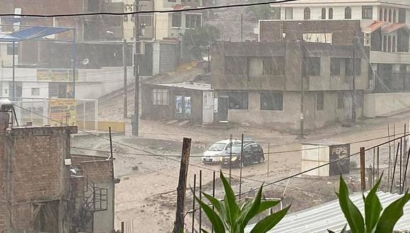 La región Arequipa registra persistentes lluvias en los últimos días.