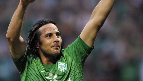 LO QUIEREN. Pizarro está en los planes del Inter de Milán. (Reuters)