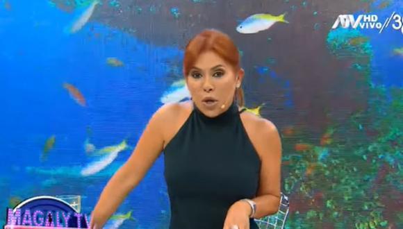 Magaly Medina se mostró preocupada por la posibilidad de cerrar programas de espectáculos. (Foto: Captura de video)