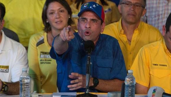 Henrique Capriles denunció que las autoridades venezolanas hicieron del hambre un negocio. | Foto: AFP
