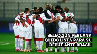 Copa América 2021: Selección peruana quedó lista para su debut de este jueves ante Brasil