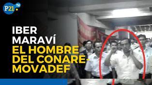 Iber Maraví, el hombre del Conare - Movadef
