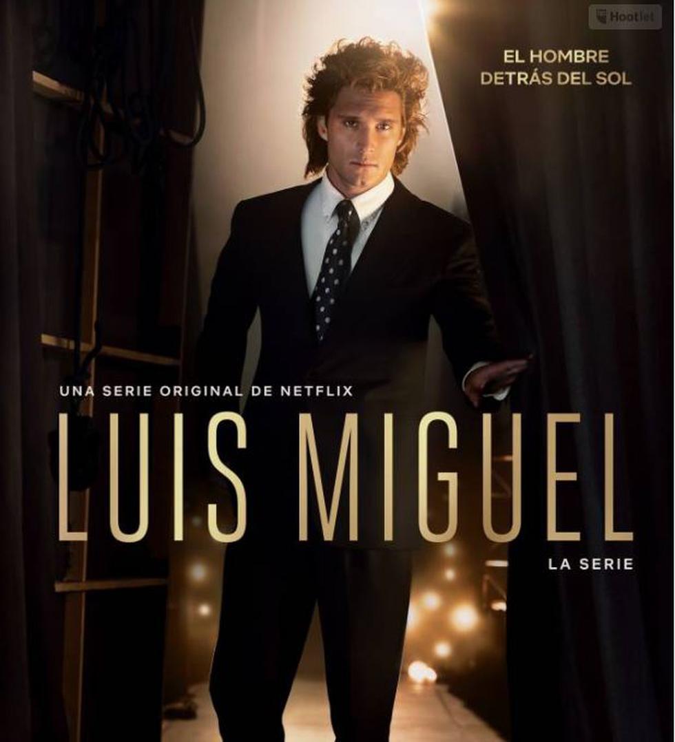 ´Puedes ver Luis Miguel, la serie' todos los domingo a partir de las 9:00 pm por Netflix.