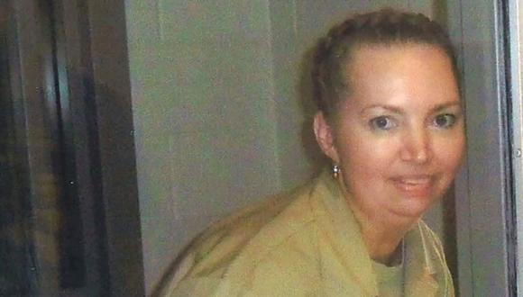 La asesina convicta Lisa Montgomery fotografiada en el Centro Médico Federal (FMC) de Fort Worth. (Foto: Reuters)